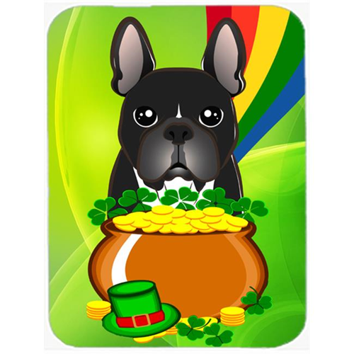 Carolines Treasures BB1971MP French Bulldog St. Patricks Day Mouse Pad Hot Pad or Trivet