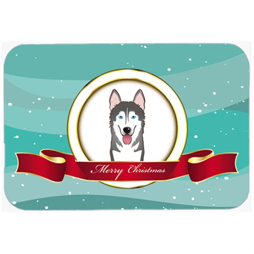 Carolines Treasures BB1528MP Alaskan Malamute Merry Christmas Mouse Pad Hot Pad & Trivet