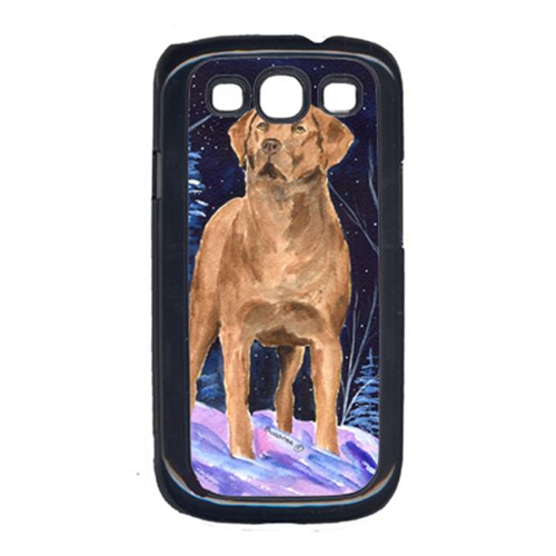 Carolines Treasures SS8355GALAXYSIII Starry Night Chesapeake Bay Retriever Cell Phone Cover For Galaxy S111