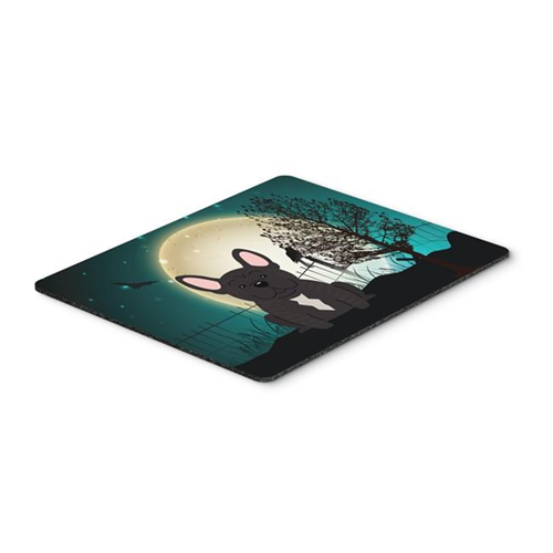 Carolines Treasures BB2199MP Halloween Scary French Bulldog Brindle Mouse Pad Hot Pad or Trivet