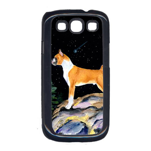 Carolines Treasures SS8496GALAXYSIII Starry Night Boxer Cell Phone Cover Galaxy S111