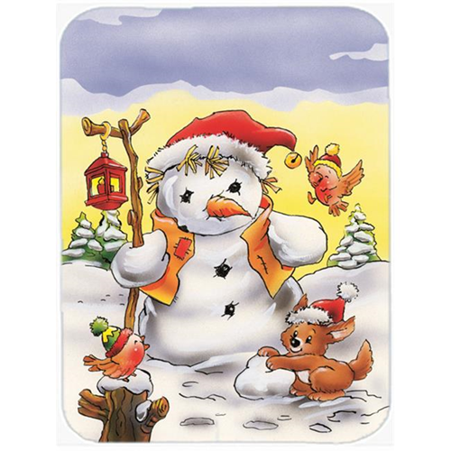 Carolines Treasures AAH7295MP Scarecrow Snowman Mouse Pad Hot Pad or Trivet