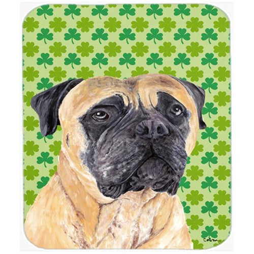 Carolines Treasures SC9305MP Mastiff St. Patricks Day Shamrock Portrait Mouse Pad Hot Pad or Trivet