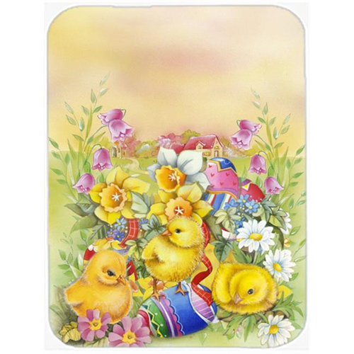 Carolines Treasures APH5613MP Easter Chicks & Eggs Mouse Pad Hot Pad or Trivet