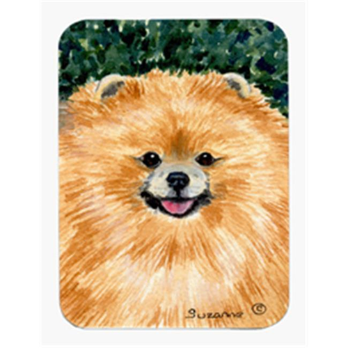 Carolines Treasures SS8725MP Pomeranian Mouse Pad & Hot Pad Or Trivet