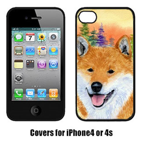 Carolines Treasures SS8234IP4 Shiba Inu Cell Phone cover IPhone 4