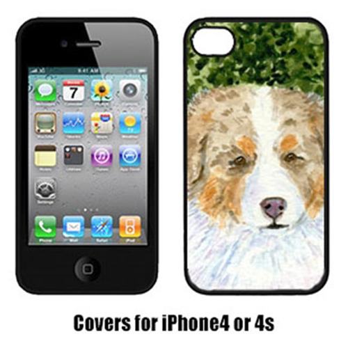 Carolines Treasures SS8732IP4 Australian Shepherd Iphone4 Cover