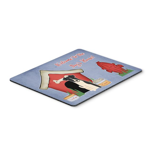 Carolines Treasures BB2852MP Dog House Collection Smooth Fox Terrier Mouse Pad Hot Pad or Trivet