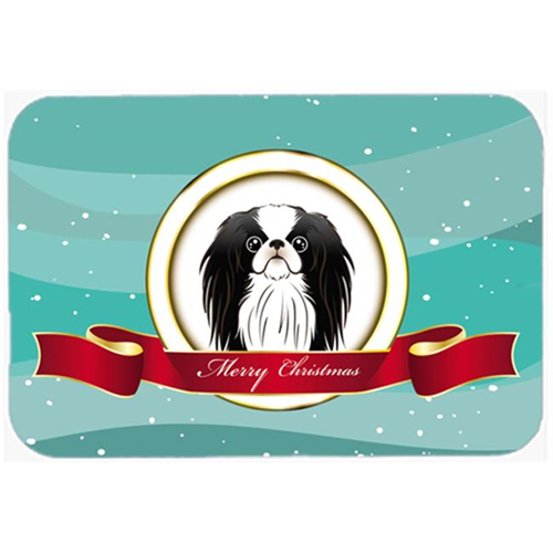 Carolines Treasures BB1540MP Japanese Chin Merry Christmas Mouse Pad Hot Pad & Trivet