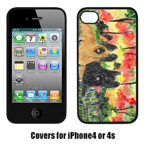 Carolines Treasures SS8045IP4 Briard Iphone 4 Cover