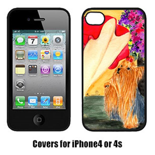 Carolines Treasures SS8522IP4 Lady With Her Yorkie Iphone4 Cover