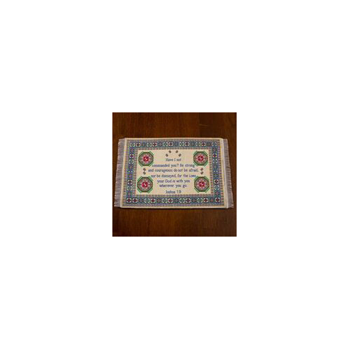 Lukas Media 184288 Mouse Pad- Joshua 1 - 9-Carpet