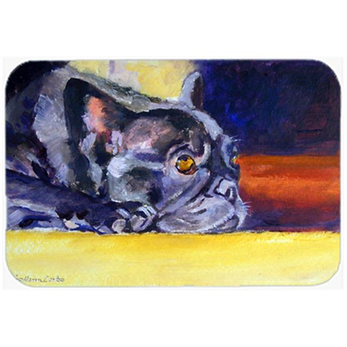 Carolines Treasures 7331MP Black French Bulldog Sunny Mouse Pad Hot Pad & Trivet