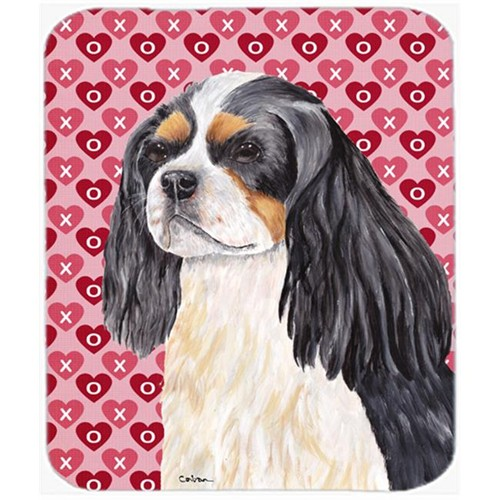 Carolines Treasures SC9248MP Cavalier Spaniel Hearts Love And Valentines Day Mouse Pad Hot Pad Or Trivet