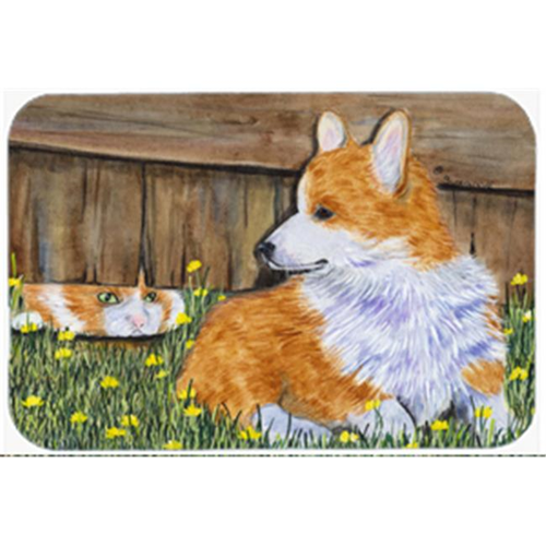 Carolines Treasures SS8213MP Corgi Mouse Pad Hot Pad & Trivet