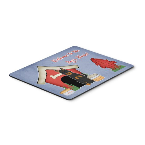 Carolines Treasures BB2834MP Dog House Collection Beauce Shepherd Dog Mouse Pad Hot Pad or Trivet