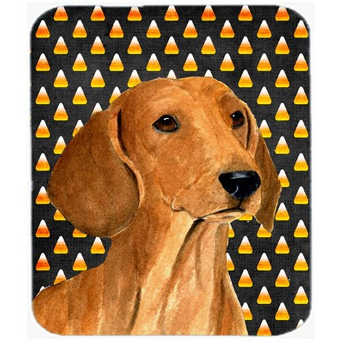 Carolines Treasures SS4280MP Dachshund Candy Corn Halloween Portrait Mouse Pad Hot Pad Or Trivet