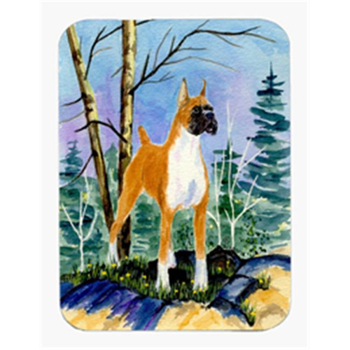 Carolines Treasures SS8650MP Boxer Mouse Pad & Hot Pad Or Trivet
