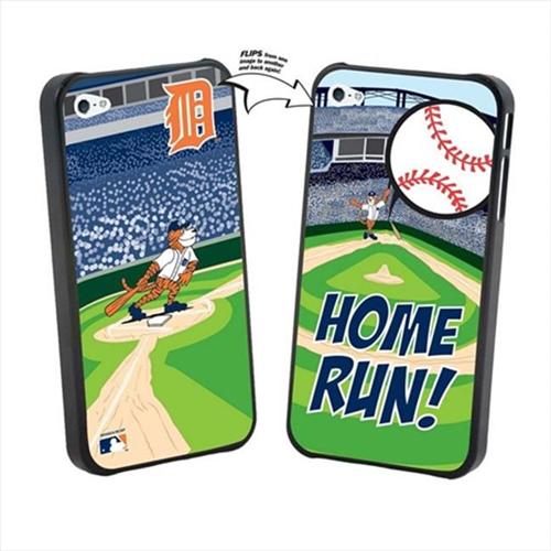 Pangea IP4L-MLB-DET-MAS iPhone 4 & 4S MLB Detroit Tigers Mascot Lenticular Case