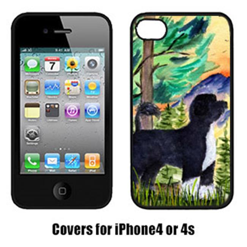 Carolines Treasures SS8429IP4 Portuguese Water Dog Cell Phone Cover Iphone 4