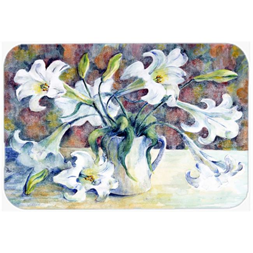 Carolines Treasures GFGO0014MP Easter Lillies Mouse Pad Hot Pad or Trivet