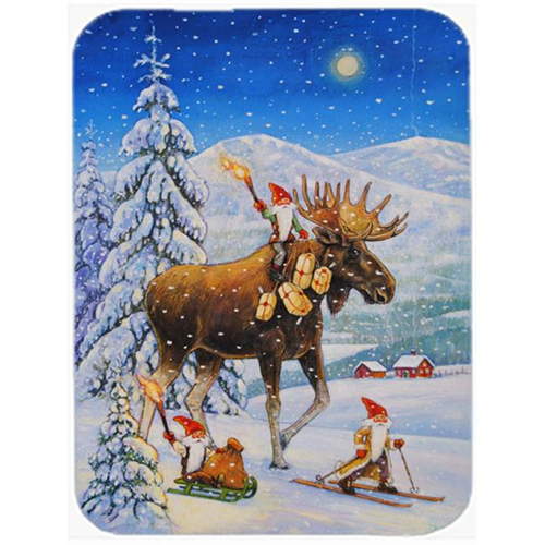 Carolines Treasures ACG0102MP Christmas Gnome Riding Reindeer Mouse Pad Hot Pad or Trivet