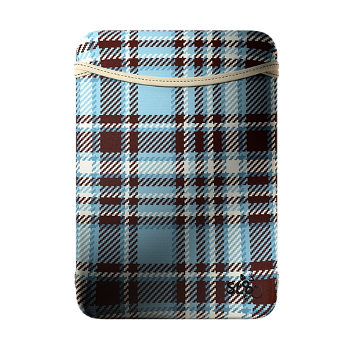 Slick Lizard Design 160101004 SL8 Tablet Edition - Multi-Reversible Neoprene Sleeve Plaid