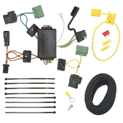 Tow Ready 118502 T-One Connector Assembly With Upgraded Circuit Protected Modulite Module 8.75 x 5 x 4 in.