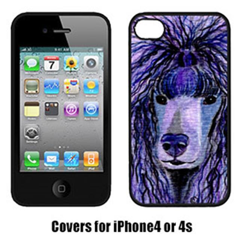 Carolines Treasures SS8800IP4 Poodle Iphone4 Cover