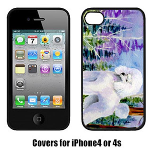Carolines Treasures SS8639IP4 Poodle Cell Phone Cover Iphone4