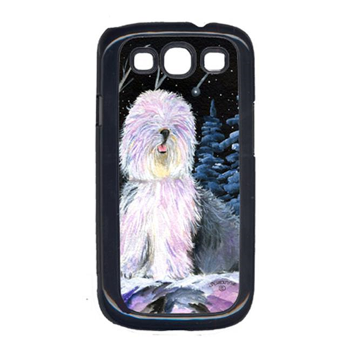 Carolines Treasures SS8409GALAXYSIII Starry Night Old English Sheepdog Cell Phone Cover Galaxy S111