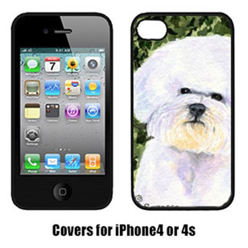 Carolines Treasures SS8829IP4 Bichon Frise Iphone 4 Cover