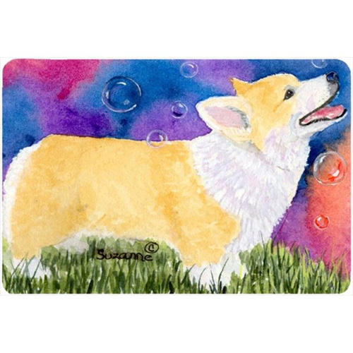 Carolines Treasures SS8751MP Corgi Mouse pad hot pad or trivet