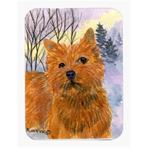 Carolines Treasures SS1012MP 8 x 9.5 in. Norwich Terrier Mouse Pad Hot Pad Or Trivet