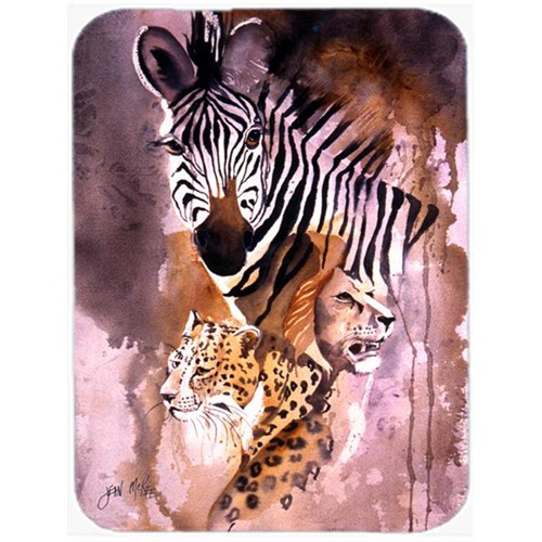 Carolines Treasures JMK1194MP Cheetah Lion And Zebra Mouse Pad Hot Pad & Trivet