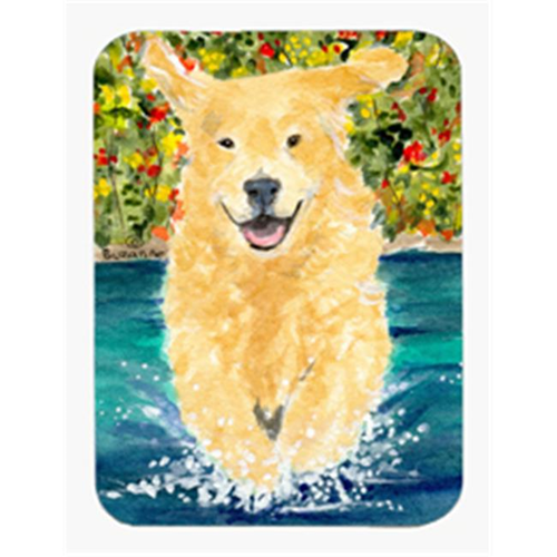 Carolines Treasures SS8978MP Golden Retriever Mouse Pad & Hot Pad & Trivet