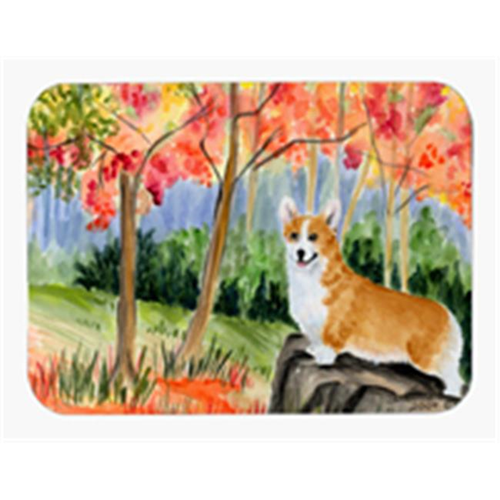 Carolines Treasures SS8039MP Corgi Mouse Pad Hot Pad & Trivet