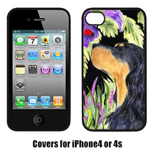 Carolines Treasures SS8250IP4 Gordon Setter Cell Phone cover IPhone 4