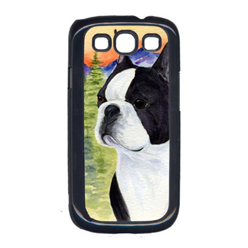 Carolines Treasures SS8187GALAXYSIII Boston Terrier Cell Phone Cover Galaxy S111