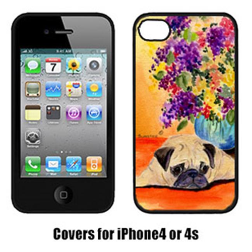 Carolines Treasures SS8294IP4 Pug Cell Phone cover IPhone 4