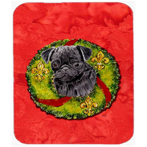 Carolines Treasures SC9096MP Pug Mouse Pad Hot Pad Or Trivet