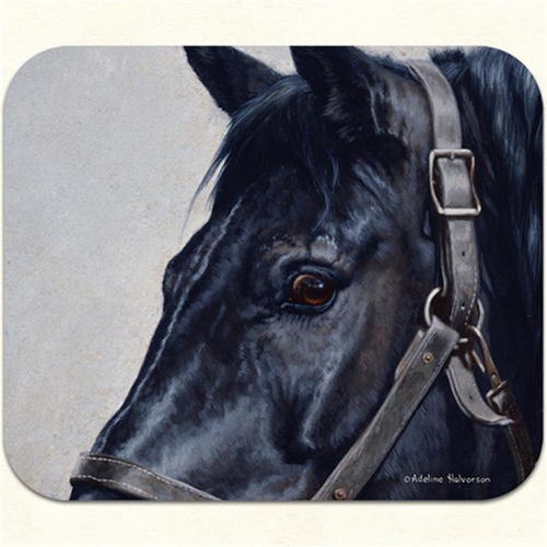 Fiddlers Elbow m998 Black Horse Mouse Pad Pack Of 2