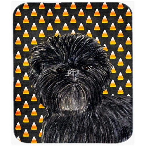 Carolines Treasures SS4304MP Affenpinscher Candy Corn Halloween Portrait Mouse Pad Hot Pad Or Trivet