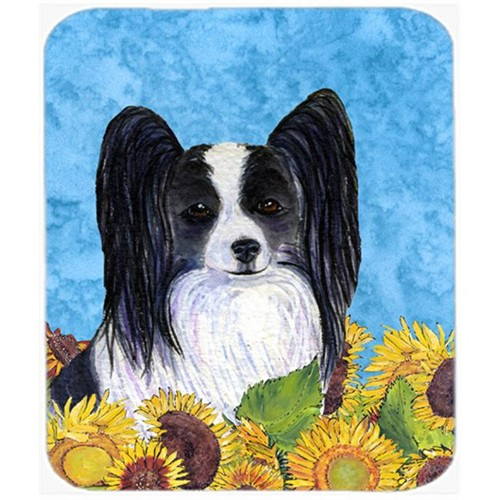 Carolines Treasures SS4138MP Papillon Mouse Pad Hot Pad or Trivet
