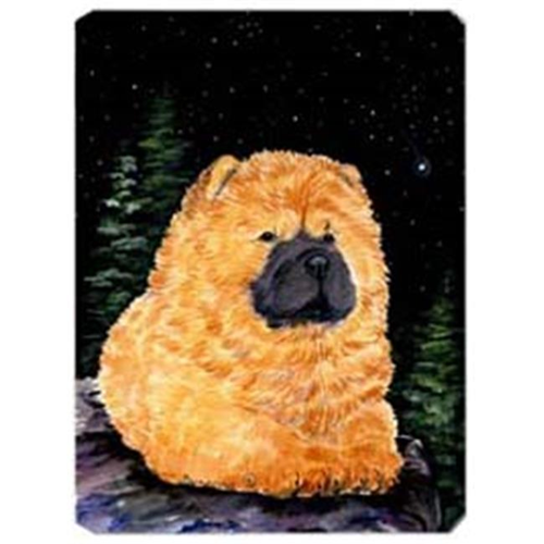 Carolines Treasures SS8489MP Starry Night Chow Chow Mouse Pad