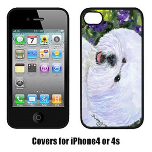Carolines Treasures SS8897IP4 Bichon Frise Iphone 4 Cover