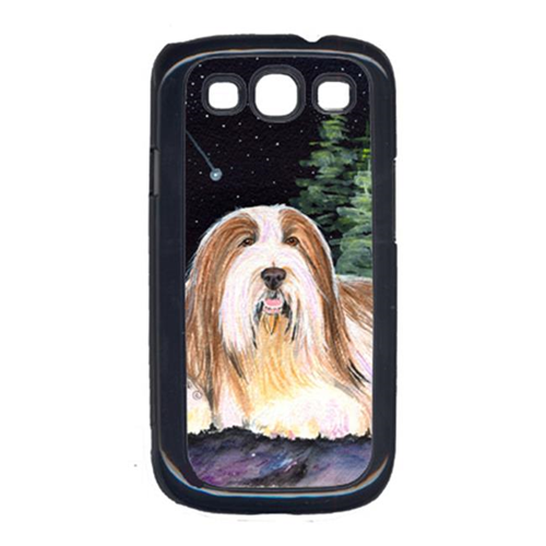 Carolines Treasures SS8529GALAXYSIII Starry Night Bearded Collie Cell Phone Cover Galaxy S111