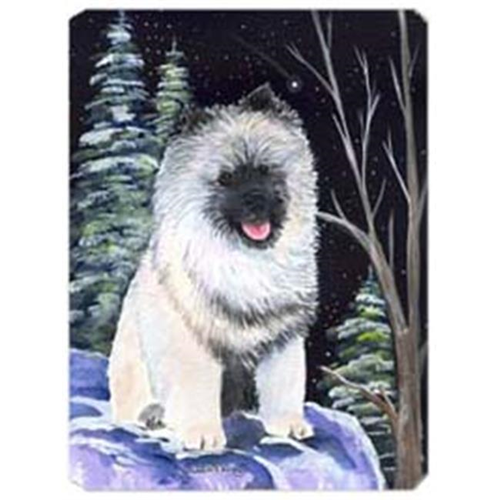 Carolines Treasures SS8404MP Starry Night Keeshond Mouse Pad