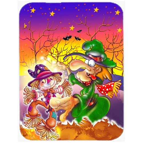 Carolines Treasures APH5129MP Witch Voodoo Scarecrow Halloween Mouse Pad Hot Pad or Trivet