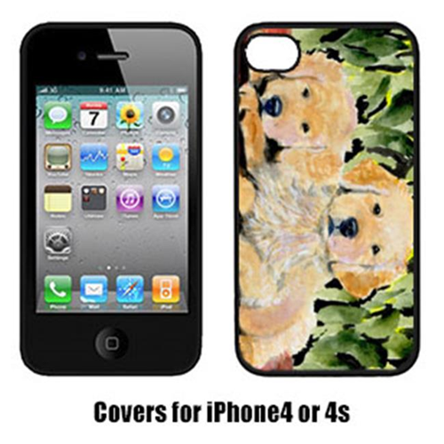 Carolines Treasures SS8908IP4 Golden Retriever Iphone 4 Cover